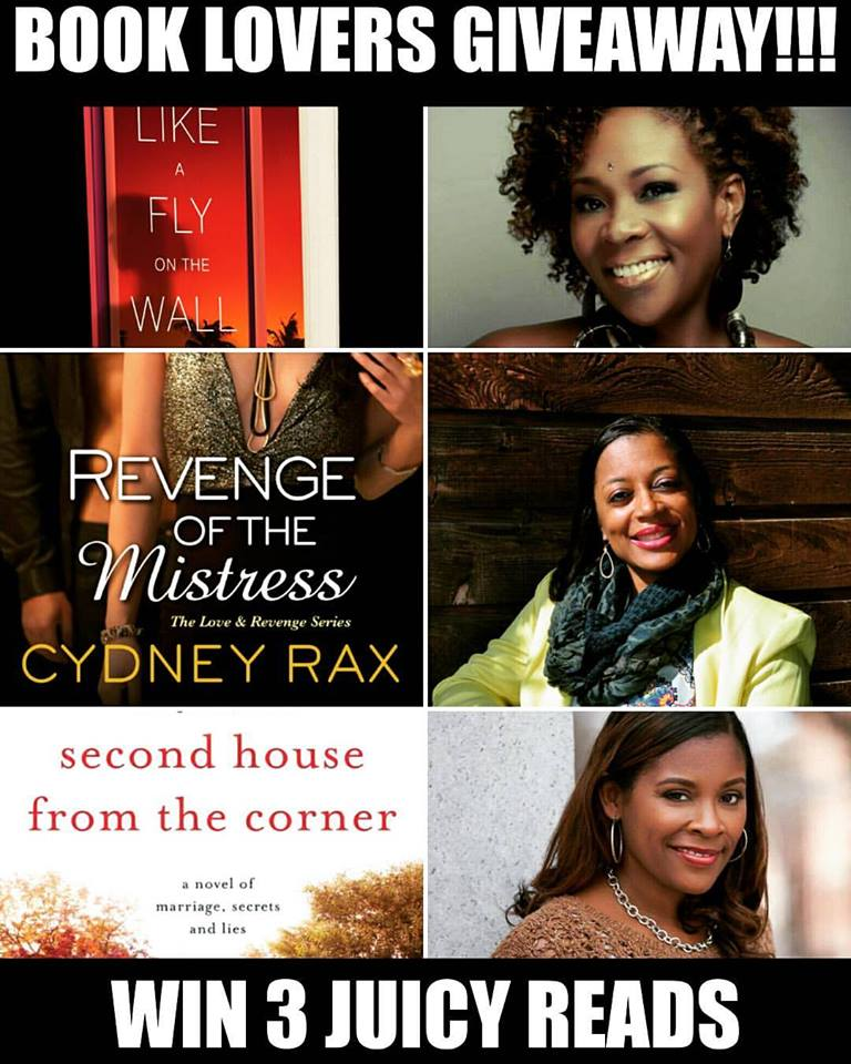 3 Juicy Reads + 3 Great Authors = 3 Book Giveaway