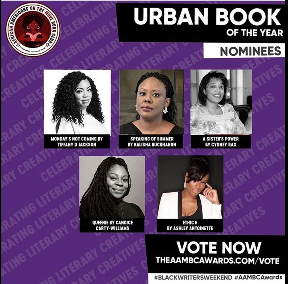 A Sister's Power Nomination – Cast your vote for AAMBC literary awards 2020